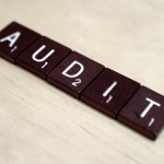 Audit spelled in tiles